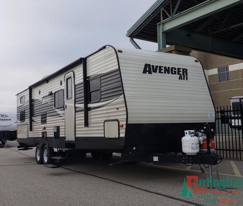 2017 Prime Time Avenger ATI 27DBS - Sturtevant, WI - 13489A  - Burlington RV Superstore