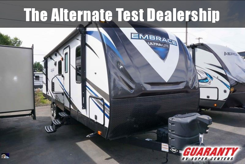 2018 Cruiser Embrace Ultra-Lite EL280 - Guaranty RV Trailer and Van Center - PT3768