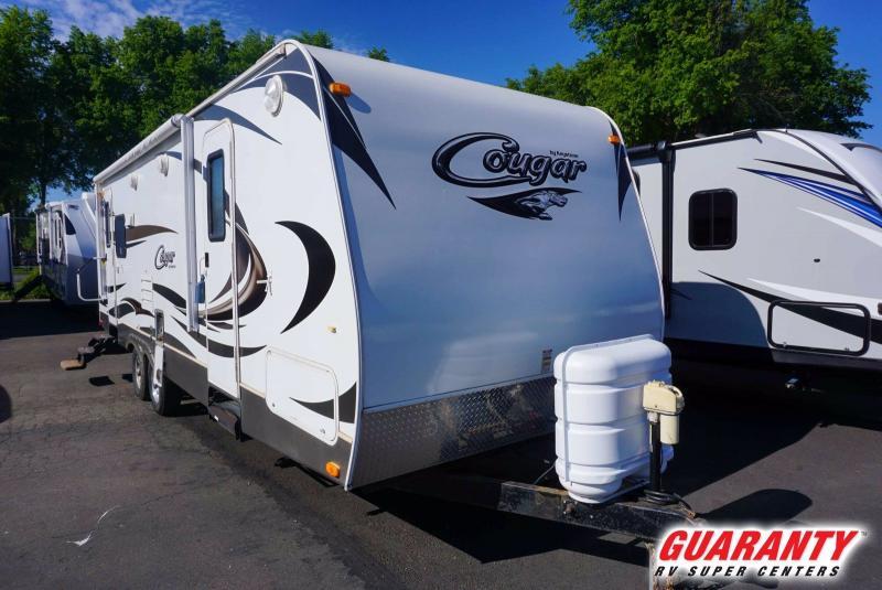 2012 Keystone Cougar 27RLS - Guaranty RV Trailer and Van Center - M41071A