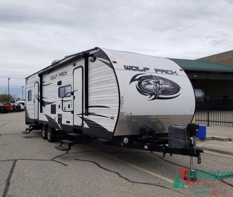 2014 Cherokee Wolf Pack 28WP - BRV - C710A  - Burlington RV Superstore