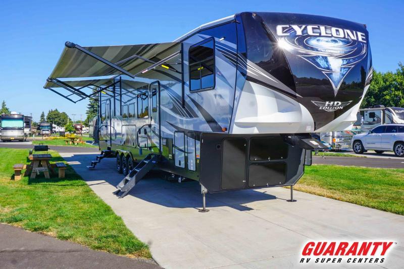 2021 Heartland Cyclone 4115 - Guaranty RV Fifth Wheels - T41822