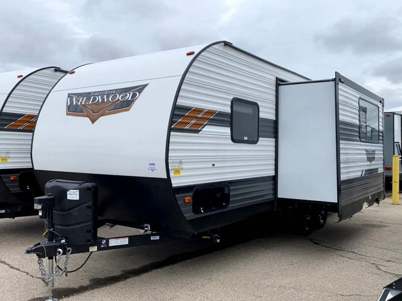 2021 Forest River Wildwood 22RBS - Sturtevant, WI - 14486  - Burlington RV Superstore