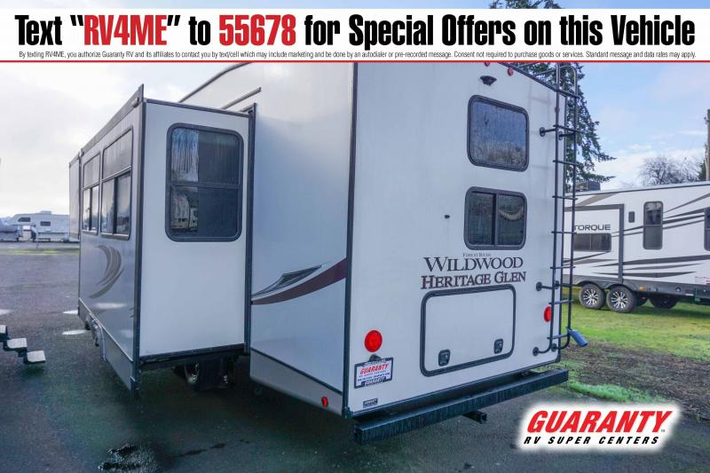 2021 Forest River Wildwood Heritage Glen 295BH - Guaranty RV Fifth Wheels - T42778