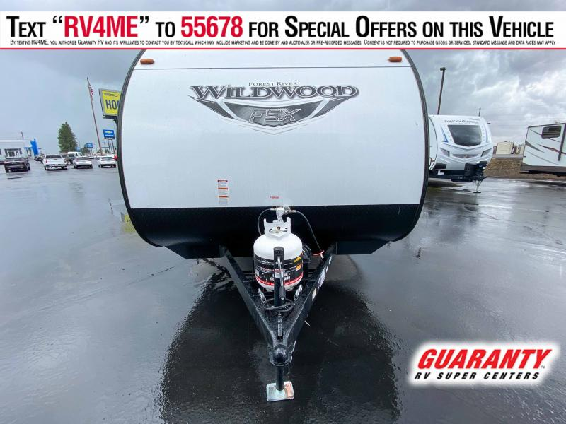 2021 Forest River Wildwood 167RB FSX - Guaranty RV Trailer and Van Center - T40636A