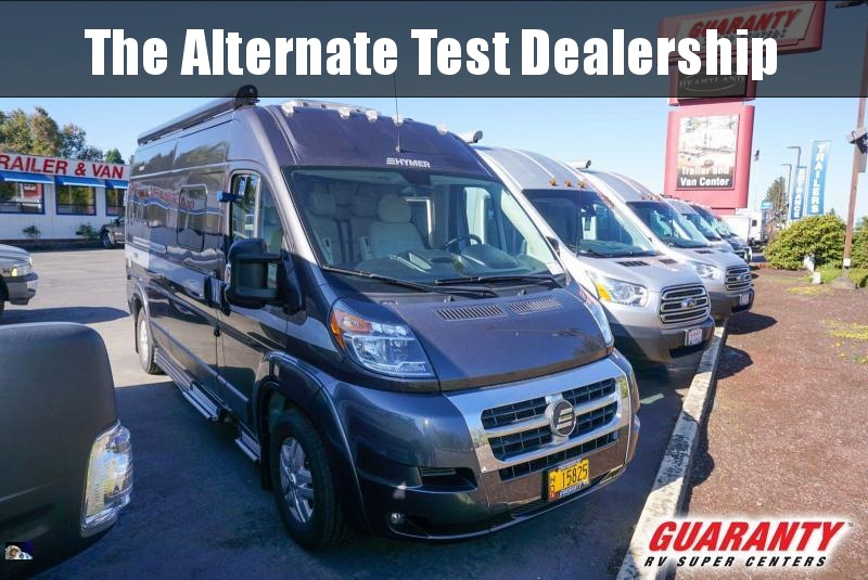 2017 Hymer Active AKTIV - Guaranty RV Trailer and Van Center - T40409A