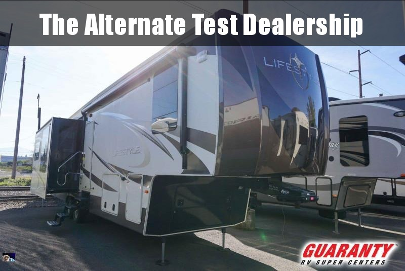 2015 Lifestyle Lifestyle LS38RS - Guaranty RV Fifth Wheels - PT3834A