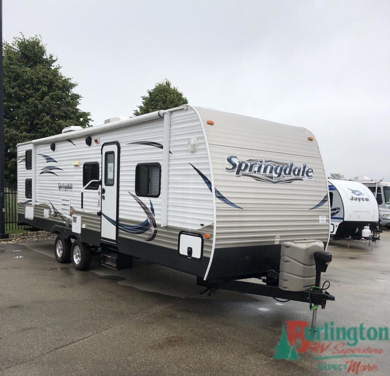 2013 Keystone Springdale 297BH - BRV - 13507A  - Burlington RV Superstore