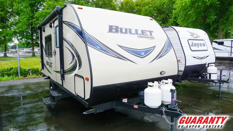 2017 Keystone Bullet Crossfire 1800RB - Guaranty RV Trailer and Van Center - T37733B