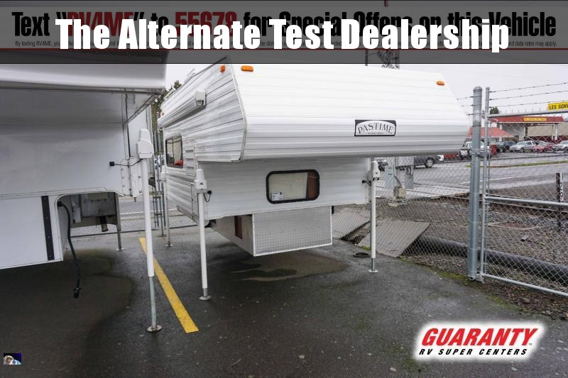 2017 Pastime Pastime 880 - Guaranty RV Fifth Wheels - PT3996A