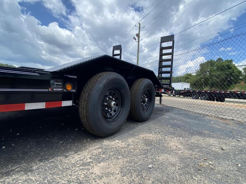 New 2020 Load Trail 8.5ft x 20ft 14k Tandem Axle  Bumper Pull Car/Equipment Hauler   (Black)