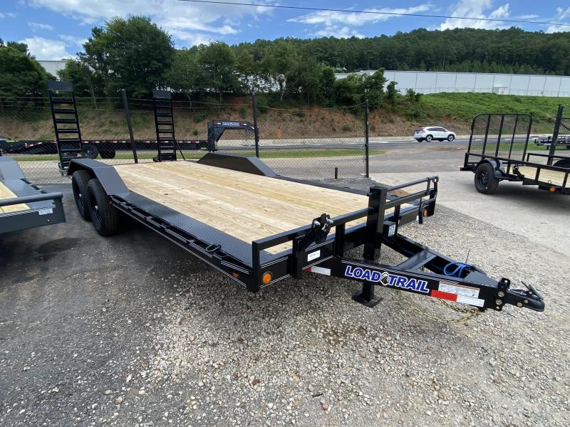 New 2020 Load Trail 8.5ft x 20ft 14k Tandem Axle  Bumper Pull Car/Equipment Hauler   (Black)