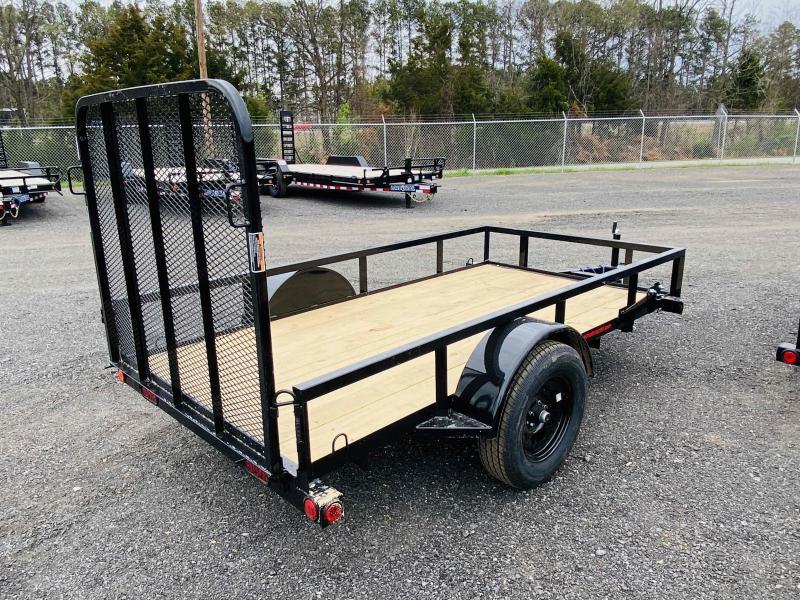 New 2021 Load Trail 5ft x 10ft 3k Single Axle  Bumper Pull Utility   (Black)