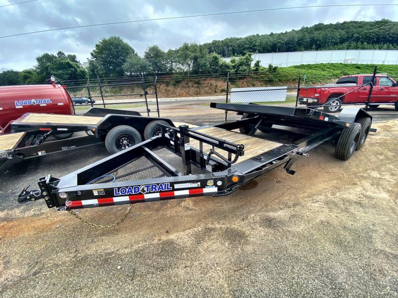 New 2020 Load Trail 7ft x 20ft 16k Tandem Axle  Bumper Pull Tilt Deck   (Black)