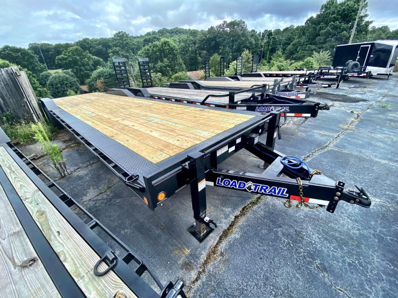 New 2020 Load Trail 8.5ft x 32ft 14k Tandem Axle  Bumper Pull Car/Equipment Hauler   (Black)