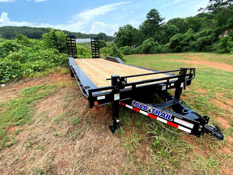 New 2020 Load Trail 8.5ft x 24ft 14k Tandem Axle  Bumper Pull Car/Equipment Hauler   (Black)