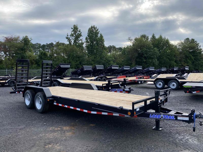 New 2021 Load Trail 7ft x 22ft 16k Tandem Axle  Bumper Pull Car/Equipment Hauler   (Black)