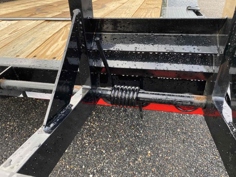 New 2022 Load Trail 8.5ft x 20ft 14k Tandem Axle  Bumper Pull Car/Equipment Hauler   (Black)