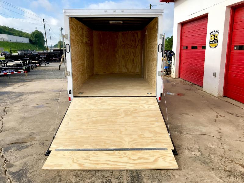 New Rock Solid 7x14 Tandem Axle Cargo Trailer