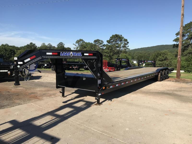 New 2021 Load Trail 8.5ft x 40ft 21k Triple Axle  Gooseneck Car/Equipment Hauler   (Black)