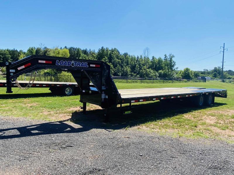 New 2021 Load Trail 8.5ft x 32ft 22k Tandem Axle Low-Pro Gooseneck Flatbed   (Black)