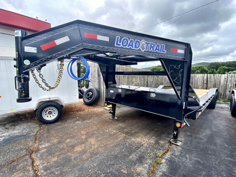 New 2020 Load Trail 8.5ft x 26ft 14k Tandem Axle  Gooseneck Car/Equipment Hauler   (Black)