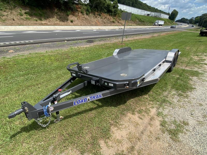 New 2020 Load Trail 7ft x 20ft 7k Tandem Axle  Bumper Pull Car/Equipment Hauler   (Gray)