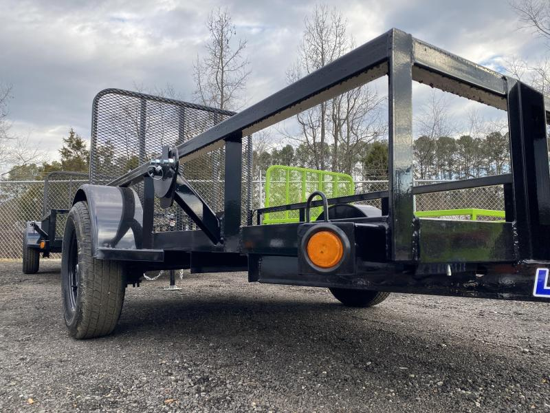 New 2021 Load Trail 5ft x 10ft 3.5k Single Axle  Bumper Pull Utility   (Black)