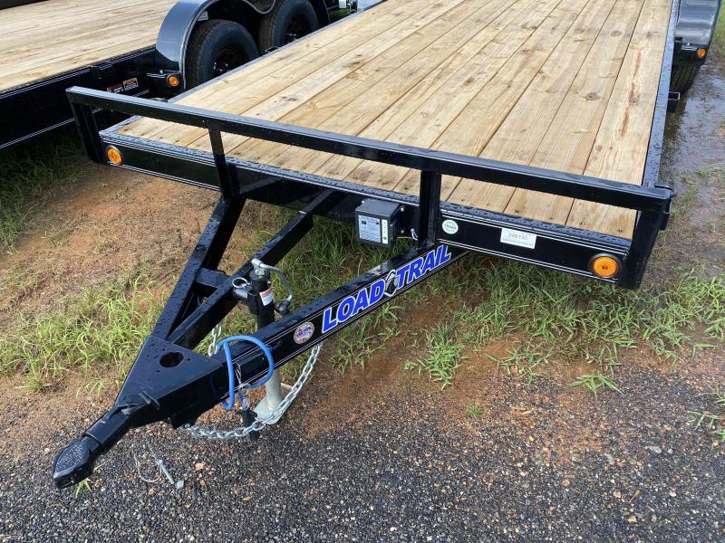 New 2022 Load Trail 7ft x 20ft 7k Tandem Axle  Bumper Pull Car/Equipment Hauler   (Black)