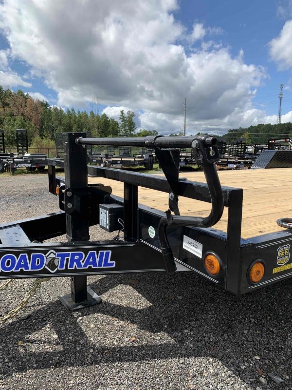 New 2022 Load Trail 7ft x 20ft 14k Tandem Axle  Bumper Pull Car/Equipment Hauler   (Black)