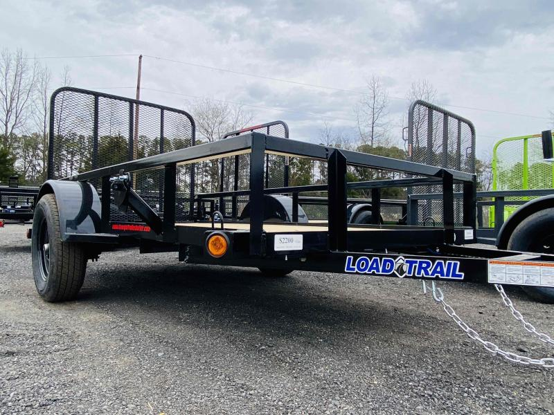 New 2021 Load Trail 5ft x 10ft 3k Single Axle  Bumper Pull Utility   (Black)