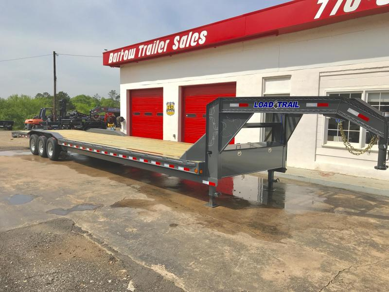 New 2020 Load Trail 8.5ft x 44ft 21k Triple Axle  Gooseneck Car/Equipment Hauler   (Black)