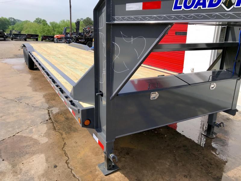New 2020 Load Trail 8.5ft x 44ft 21k Triple Axle  Gooseneck Car/Equipment Hauler   (Black)