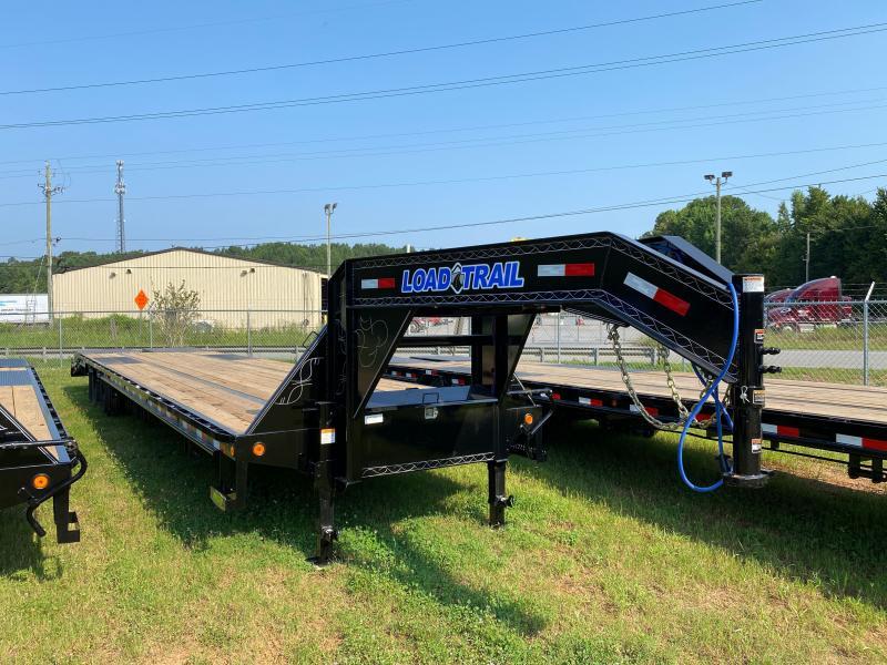 New 2021 Load Trail 8.5ft x 40ft 24k Tandem Axle HD Low-Pro Gooseneck Flatbed   (Black)
