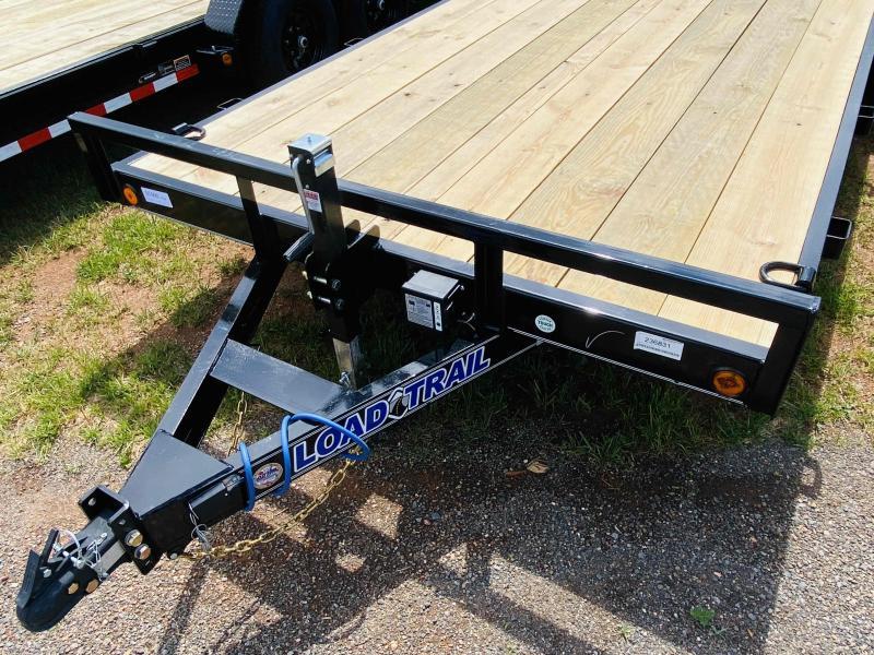 New 2021 Load Trail 7ft x 20ft 10k Tandem Axle  Bumper Pull Car/Equipment Hauler   (Black)