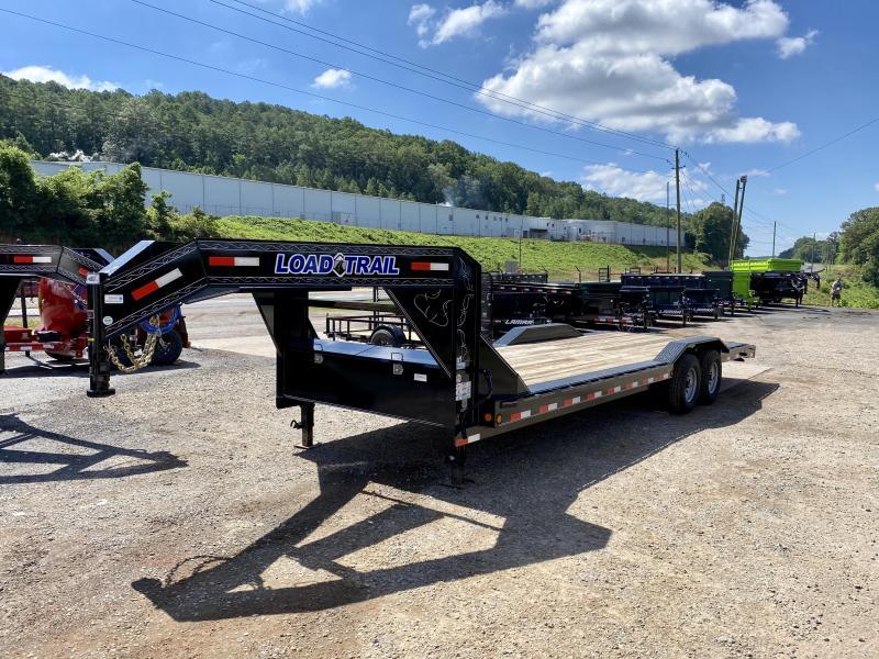 New 2019 Load Trail 8.5ft x 24ft 14k Tandem Axle  Gooseneck Car/Equipment Hauler   (Black)