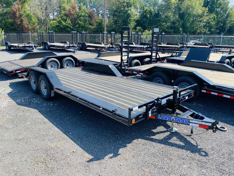 New 2022 Load Trail 8.5ft x 20ft 10k Tandem Axle  Bumper Pull Car/Equipment Hauler   (Black)