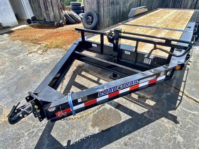 New 2020 Load Trail 7ft x 22ft 14k Tandem Axle  Bumper Pull Tilt Deck   (Black)