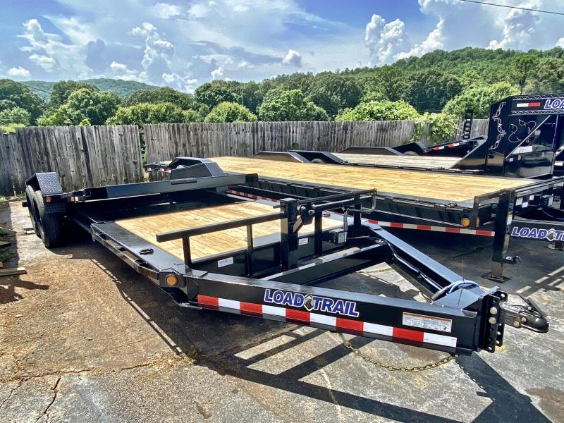 New 2020 Load Trail 7ft x 22ft 14k Tandem Axle  Bumper Pull Tilt Deck   (Black)