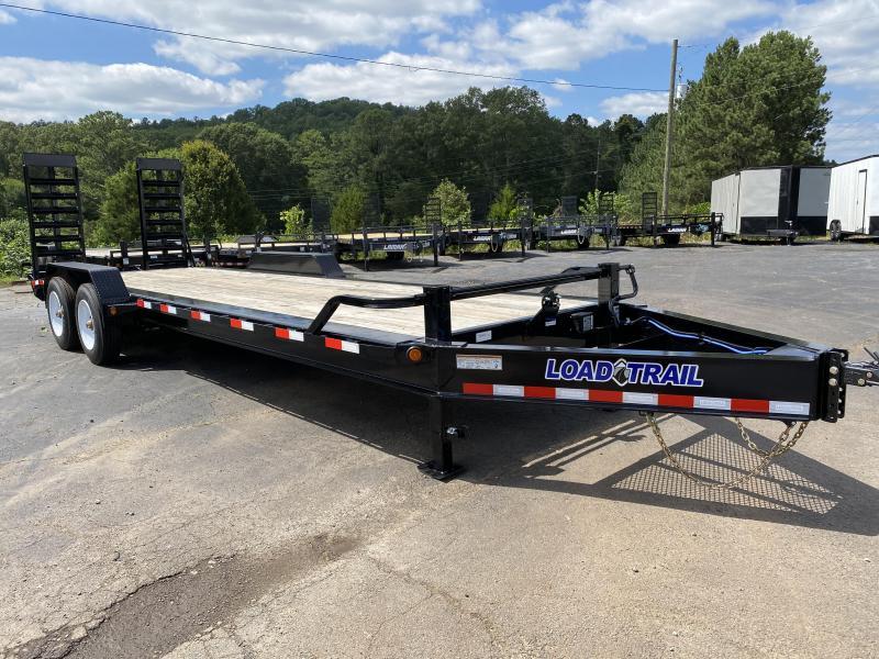 New 2020 Load Trail 7ft x 24ft 20k Tandem Axle  Bumper Pull Car/Equipment Hauler   (Black)