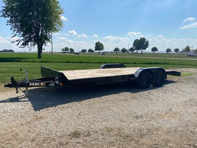 2020 Rice Trailers Car Hauler Equipment Trailer