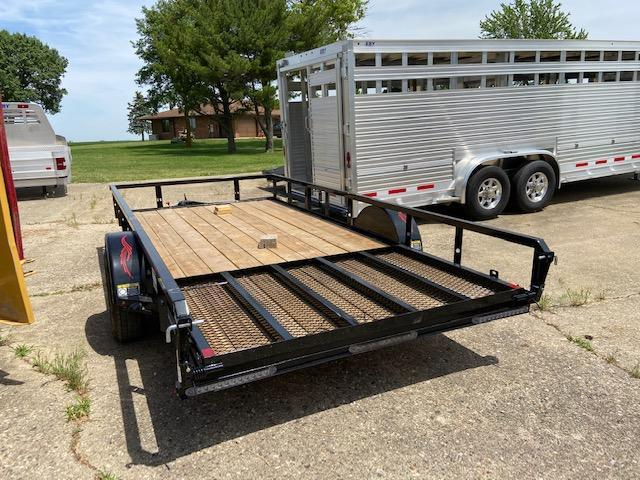 2020 Trailerman Trailers Inc. 77 X 14 Utility Trailer
