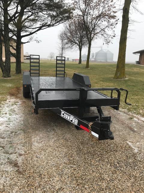 2021 CornPro Heavy Duty Utility Equipment Trailer