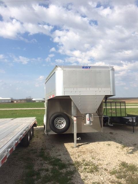 2021 Eby Trailers 7.5 X 22 Wrangler Livestock Trailer