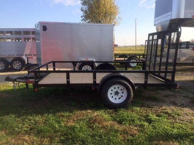 2021 Trailerman Trailers Inc. 77 X 10 Utility Trailer