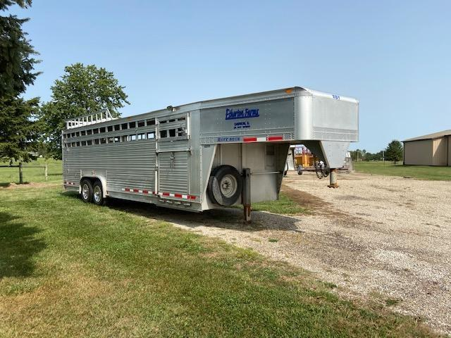 2008 EBY Ruffneck Livestock Trailer