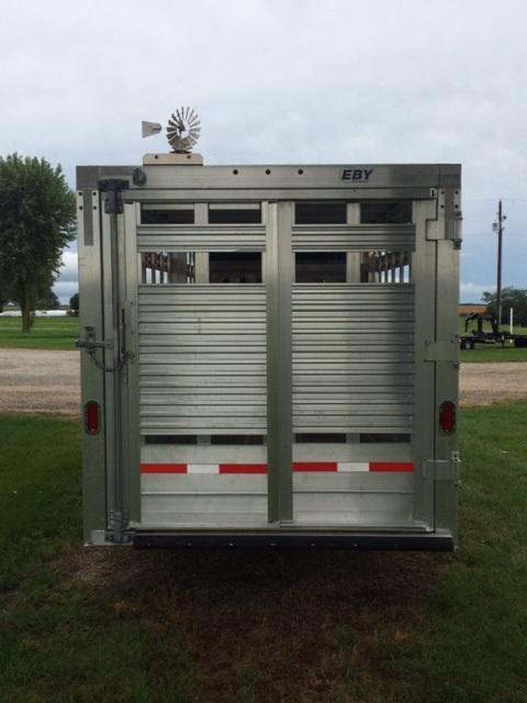 2021 EBY Maverick LS 7 X 20 Livestock Trailer