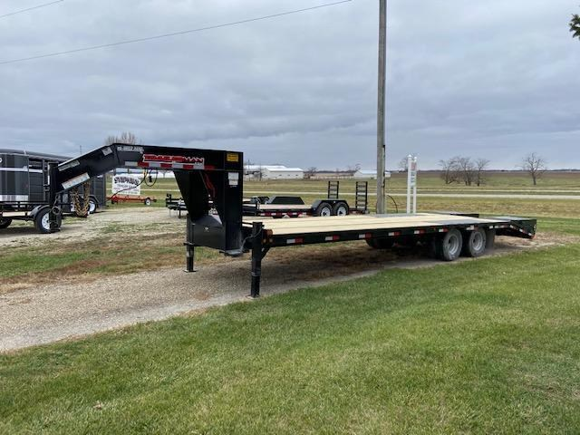 2021 Trailerman Trailers Inc. Hired Hand Dual Wheel Equipment Trailer