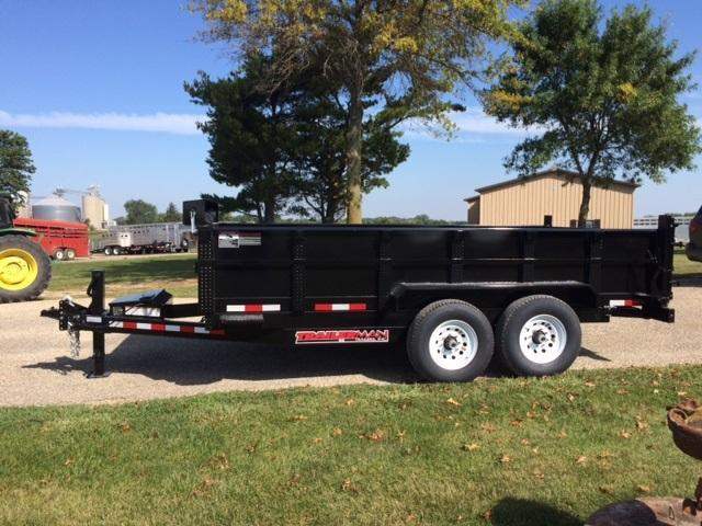 2020 Trailerman Trailers Inc. 14' Dump Trailer