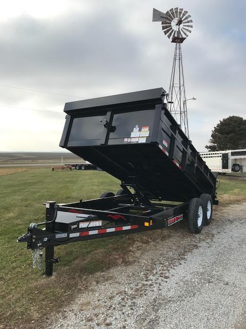 2021 Trailerman Trailers Inc. 14' Dump Trailer