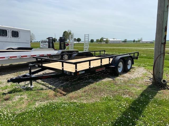 2021 Trailerman Trailers Inc. Double Axle Utility Trailer